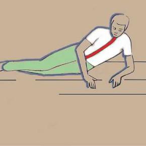 Hogyan feküdjünk helyesen - gerinckímélet a hétköznapokban