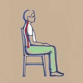 A helyes ülés - gerinckímélet a hétköznapokban