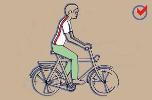 Helyes biciklizés